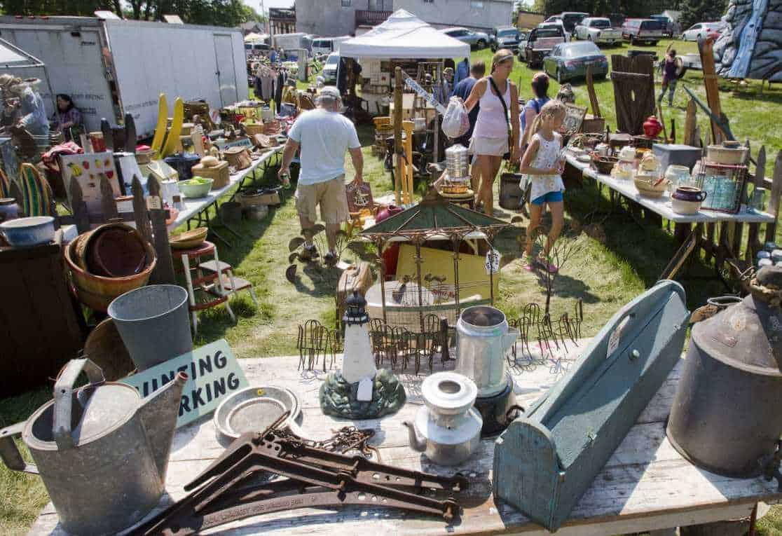 Downtown Oronoco Gold Rush Days - fleamapket: the best flea markets